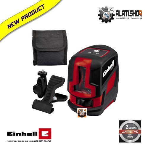 Einhell TC-LL 2 križni laserski nivelir + stezaljka (2270105)