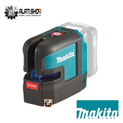 Makita SK105DZ akumulatorski križni laserski nivelir