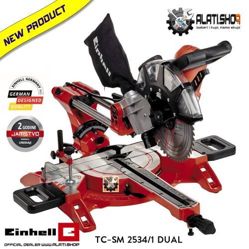Einhell TC-SM 2534/1 Dual preklopna potezna pila žaga testera (4300395)