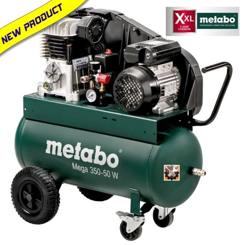 Metabo MEGA 350-50 W kompresor klipni 50 lit. (601589000)