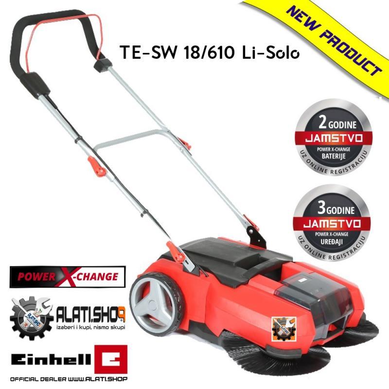 Einhell TE-SW 18/610 Li-Solo Power X-Change akumulatorski uređaj za metenje(3433600)