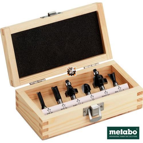 Metabo glodala frezer kroner za drvo prihvat 8 mm set 8/1 (631040000)