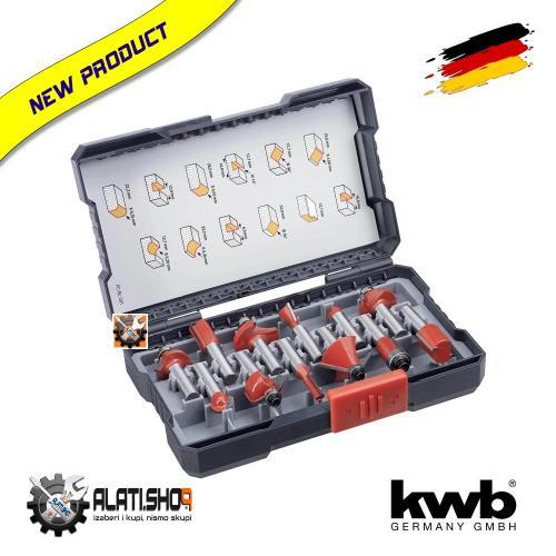 KWB glodala frezer kroner za drvo prihvat 8 mm set 12/1 (757295)