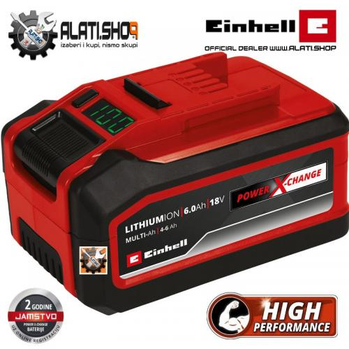 Einhell Power X-Change Plus 18 V / 4-6 Ah Li-Ion Multi akumulator (4511502)