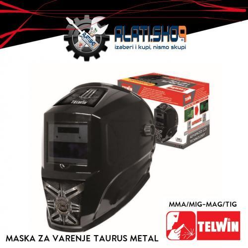Telwin Taurus Metal automatska maska za varenje (804094)
