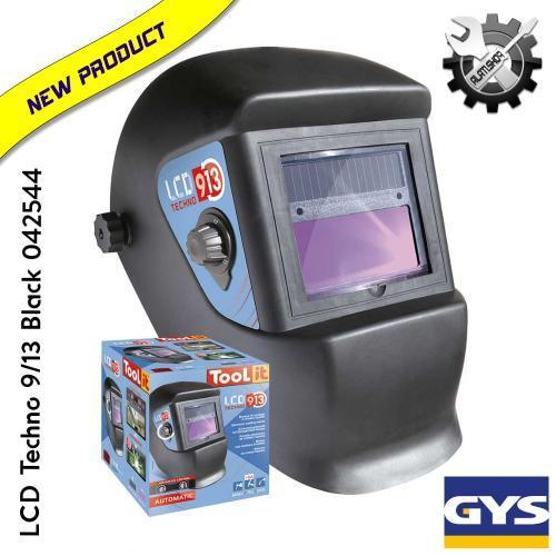 Gys LCD Techno 9/13 Black automatska maska za varenje (042544 )