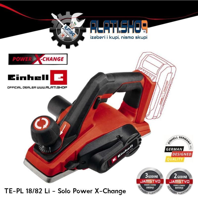 Einhell TE-PL 18/82 Li - Solo Power X-Change akumulatorska blanja (4345400)