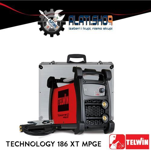 Telwin Technology 186 XT MPGE REL/TIG inverter za varenje (816250)