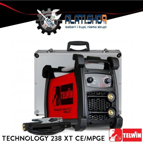 Telwin Technology 238 XT CE/MPGE REL/TIG inverter za varenje (816252)