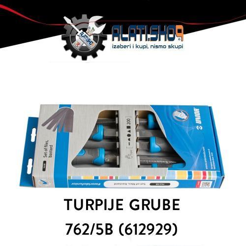 Unior turpija rašpa gruba 762/5B set 5/1 (612929)
