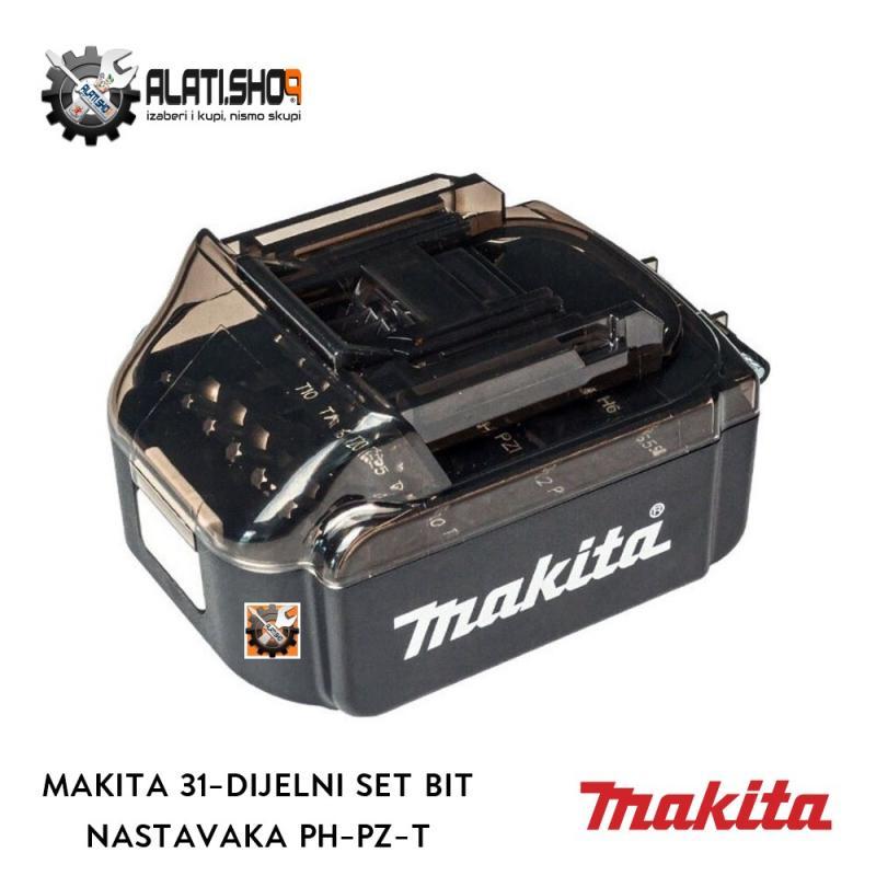 Makita 31-dijelni set bit nastavaka PH-PZ-T za odvijač (B-68317)