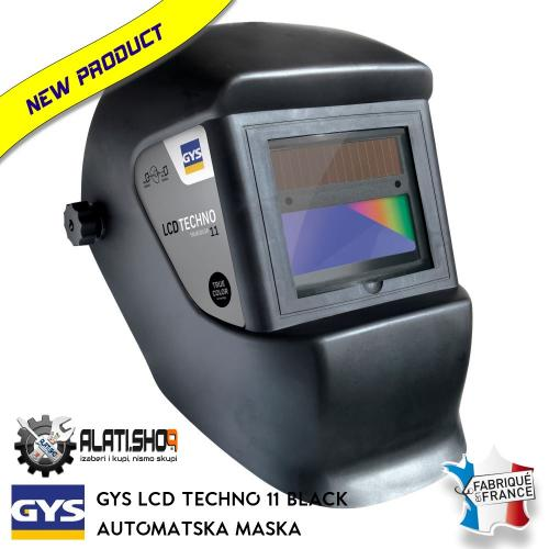 Gys LCD Techno 11 True Color automatska maska za varenje (064997)