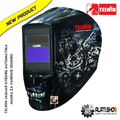 Telwin Jaguar Cyborg automatska maska za varenje (804081)
