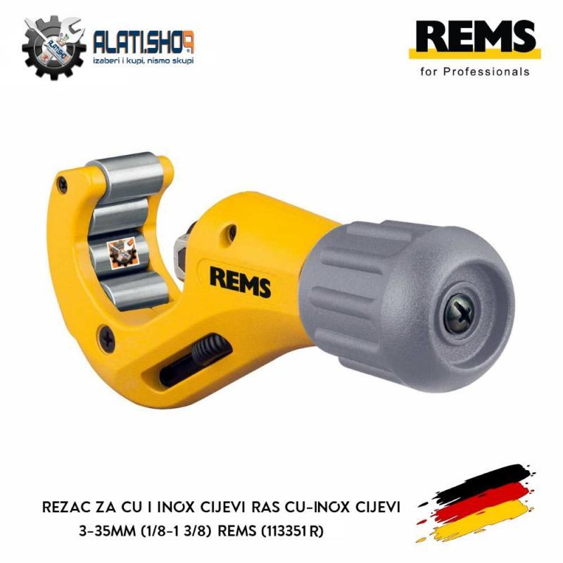 """REMS RAS Cu-INOX S 3-35 mm (1/8""""-1 3/8"""") rezač za Cu i Inox cijevi (113351 R)"""